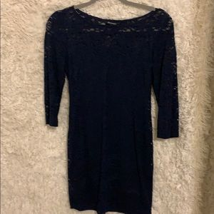 Forever 21 Lace Stretchy Body Con Dress
